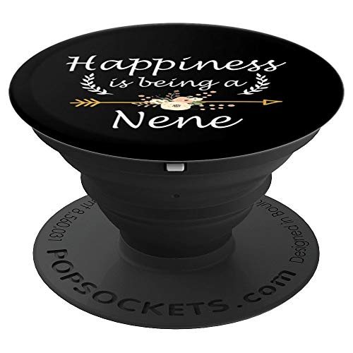 Happiness Is Being A Nene Mothers Day Cute - PopSockets Grip and Stand for Phones and Tablets