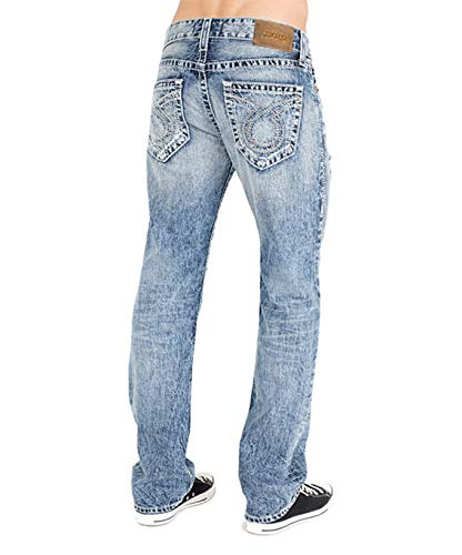 Big Star Men's Pioneer Boot Cut Jean in 18 Year Seacliff, 36x32 (Big Star Jeans Mens Pioneer)