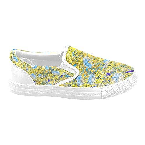 Customize Shoes Womens Multicoloured34 Slip on Debora Unusual Fashion Loafers Unique Sneakers Canvas SZFRx4qF5w