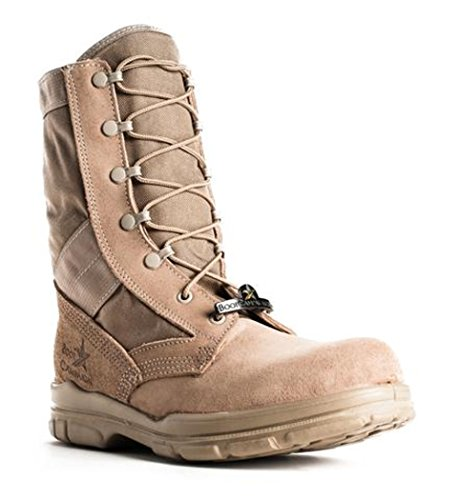 "Bates 1224 Mens 8"" DuraShocks Slip Resistant Boot Campaign Boot Made in USA 10.5D (M) US"