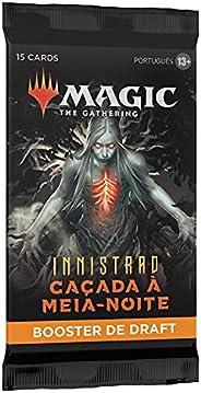 Magic: The Gathering - Boosters de Draft de Innistrad: Caçada à Meia-noite   15 cards de Magic   Português