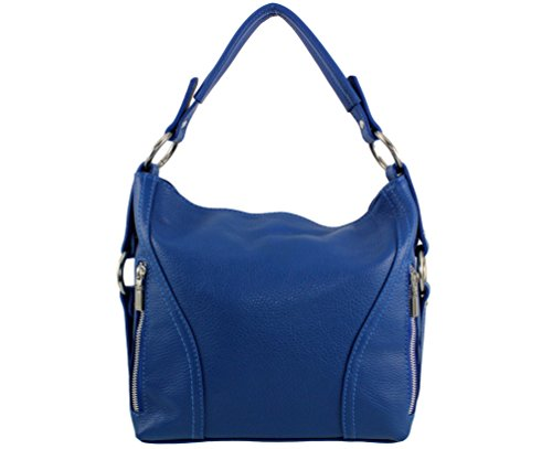 Sac main Nany Sac jours Plusieurs nany main cuir les sac femme nany Italie sac sac tous Bleu cuir vachette cuir nany a nany à Coloris Roi sa x77wS0