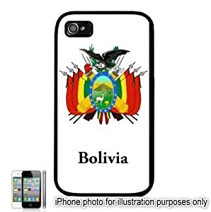 Bolivia Coat of Arms Flag Emblem Apple iPhone 5s Case Cover Black