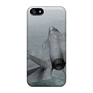 New Arrival Iphone 5/5s Case Planting Fighter F 35 Case Cover