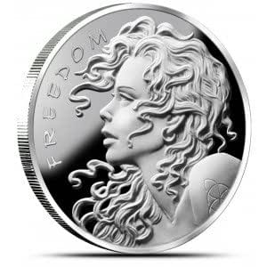 Silver Bullet Silver Shield - Freedom Girl Silver Proof Coin