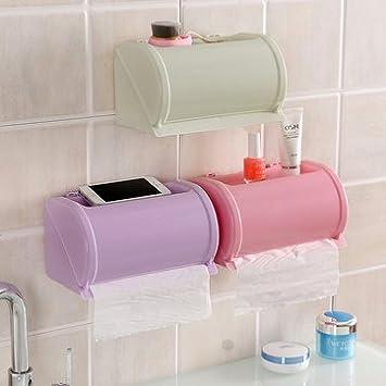 Waterproof Toilet Paper Holder Tissue Container Bathroom Rack