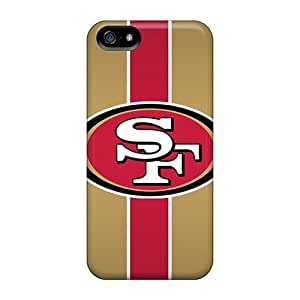 Flexible Tpu Back Case Cover For Iphone 5/5s - San Francisco 49ers