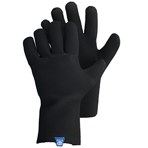 Glacier Glove ICE BAY Fishing Glove, Black, Large