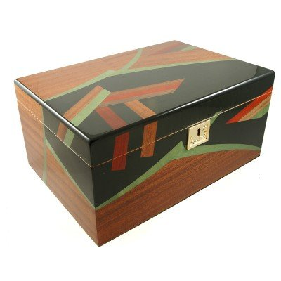 Cigar Star Luxury ELITE Limited Edition 120 Cigar Humidor 100% Hand Crafted