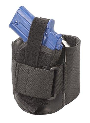 Elite Survival Systems Ankle Holster, Size 2L, Fits Beretta BU9 Nano w/laser; Glock 42 AAHS-2L