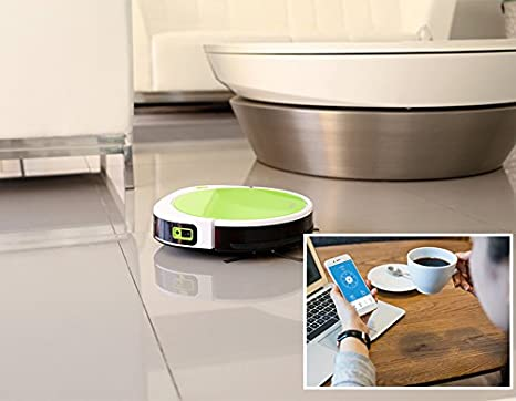 Amazon.com - seebest WiFi APP Control Robot Vacuum Cleaner with V Rolling Brush, Wet Mopping, Time Schedule F780A -