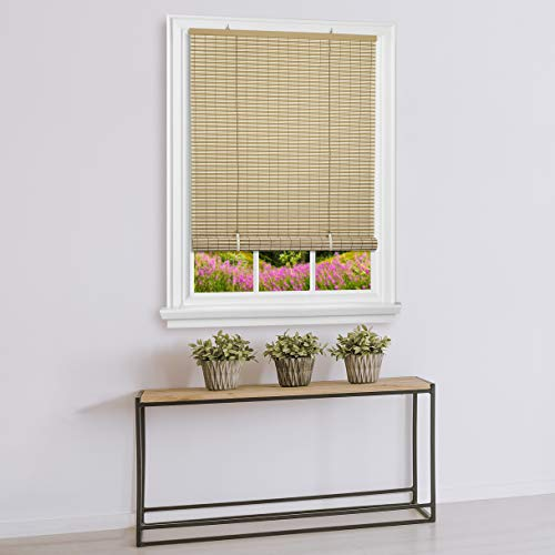 - Achim Home Furnishings Cordless Veranda Vinyl Roll-Up Blind, 36