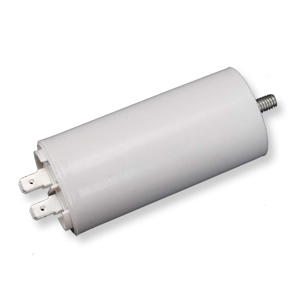 with screw at the bottom Run Capacitor Motor Run Start Capacitor Frequency 50//60Hz 450VAC ICQUANZX 8UF CBB60 Double insert molded capacitor