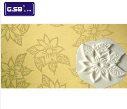 (1 piece Sponge stamp with different shapes flower pattern for wall painting 6''inch 160mm 16cm sponge seal kit|NO.CT-13)