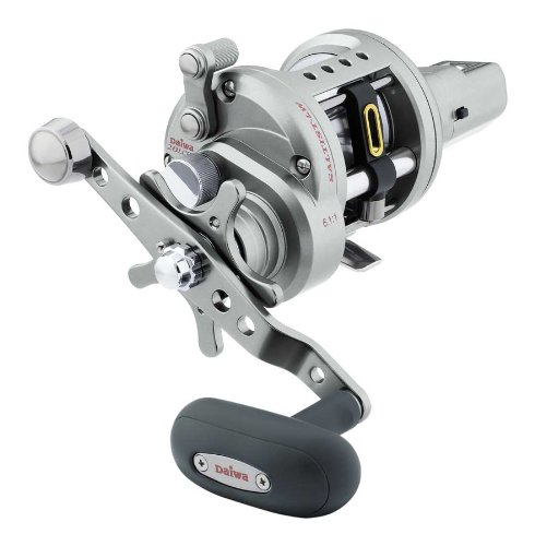 Direct Drive Fly Fishing Reel (Daiwa STTLW20LCHA 6.1:1 Saltist Levelwind Line Counter High Speed Reel)