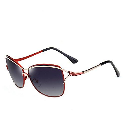 Adultos Ruiyue Grandes de Gafas Sol Libre al Sol Viaje Red UV400 Vintage Mujeres de Moda Gafas para de conducción para Polaroid Sol de de Gafas Aire de 1rIdnZqxr