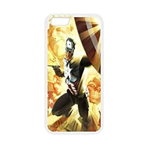 Steve-Brady Phone case Super Hero Caption American For Apple Iphone 6 Plus 5.5 inch screen Cases Pattern-12 by runtopwell