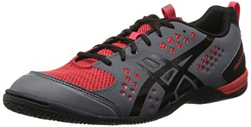 Cheap Asics Men's Gel-Fortius TR Training Shoe,Graphite/Black/True Red,7.5 M US