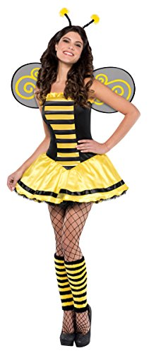 Bumble Bee Womens Costumes (Womens Bumble Beauty Costume Size Medium (6-8))
