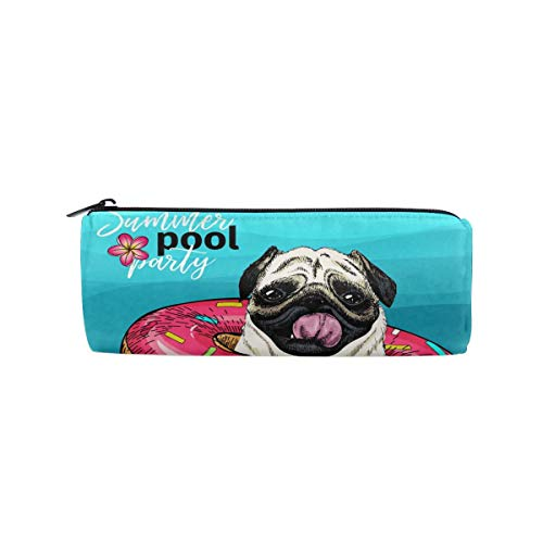 Lucaeat Summer Pool Paty School Students Pencil Case Pen Bag Women Case Makeup Cosmetic Bag