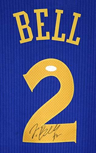 Jordan Bell Golden State Warriors Signed Autographed Blue #2 Jersey JSA COA (Oregon Ducks Jersey Basketball)