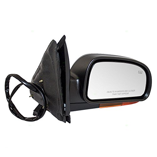 Passengers Power Side View Mirror Heated Amber Signal Replacement for Chevrolet GMC Oldsmobile SUV (Gmc Envoy Power Heated Mirror)