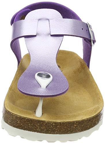 Lico Basso Lila A Pantofole Viola Look Bioline Donna Collo rwS1gr