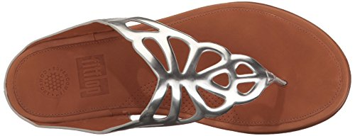 Sandals Bumble Leather Toe Fitflop Silver post TIwOYq