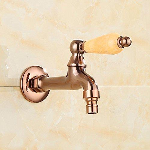 Bijjaladeva Wasserhahn Bad Wasserfall Mischbatterie Waschbecken Die Kupferscheibe in Einen Pool von Leitungswasser Düse Ein Wenig kaltem Wasser Home Rost Hahn Tippen Sie auf c