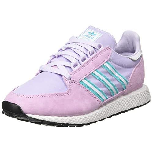 chollos oferta descuentos barato adidas Forest Grove W Zapatillas para Mujer Clear Lilac Dash Grey Hi Res Aqua 42 2 3 EU