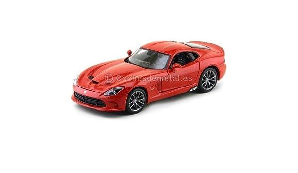 2013 Dodge Viper SRT GTS Rojo Metalizado 1:18 Maisto 31128: Amazon.es: Juguetes y juegos