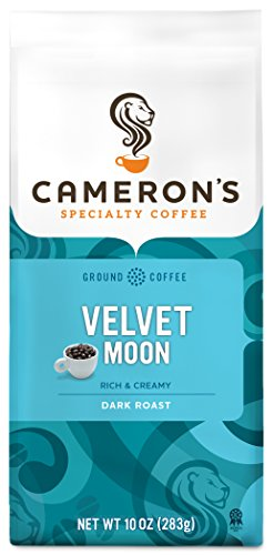Cameron's Coffee Roasted Ground Coffee Bag, Velvet Moon, 10 Ounce