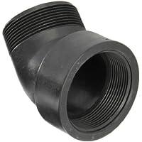 Banjo SL300-45 Polypropylene Pipe Fitting, 45 Degree Street Elbow, Schedule 80, 3 quot; NPT Female x
