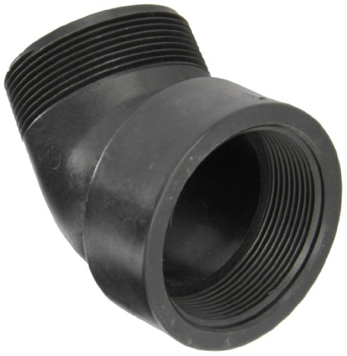 Banjo SL300-45 Polypropylene Pipe Fitting, 45 Degree Street Elbow, Schedule 80, 3