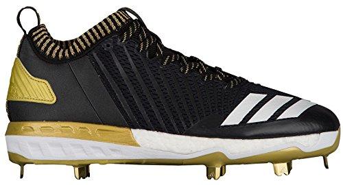Adidas Menns Freak X Karbon Midten Baseball Sko Svart | Gull