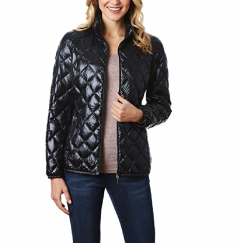 32 Degrees Heat Ladies' Packable Jacket Small Black