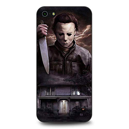 Turbo Delivery LLC -Halloween Scary Costume October 31st Nightmares Horror - Hard Rubber Phone for Apple iPhone iPod 6 / 6th Gen. Made and Shipped from The USA ()