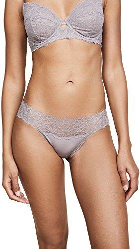 Seductive Comfort Bikini Panty, Grey Sand, Medium (Calvin Klein Lace Panty)