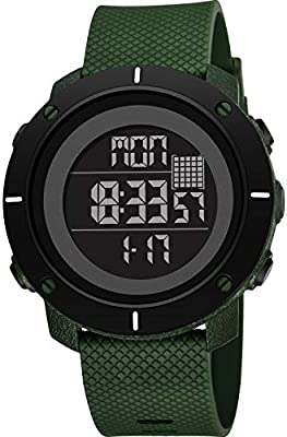 259bb2e9ee27 ZMH Reloj Impermeable