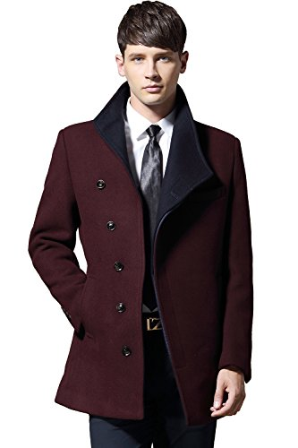 Red Wool Jacket - 1