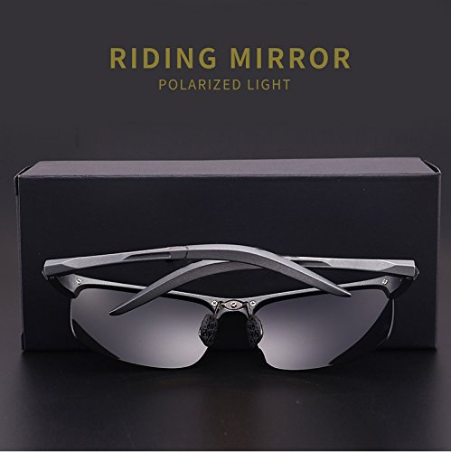 Glasses Protection Sport Night Vision Men grey Drving Polarized Lens UV Black Eyewear Glasses Frame Fauhsto Sunglasses Sunglasses Riding Sunglasses qIOwOHY