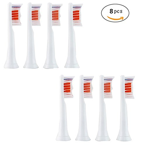 V-Bay Premium Replacement Toothbrush Heads for Philips Sonicare PowerUp HX3014(HX3013),Standard Size Toothbrushes,8 - Customer Macy's Online Service