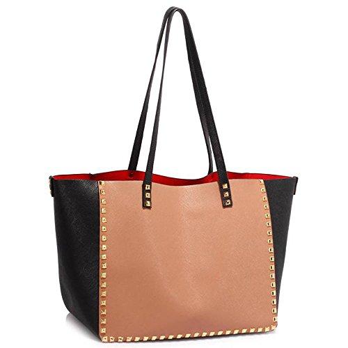 Black Studded Bag New Look - 1