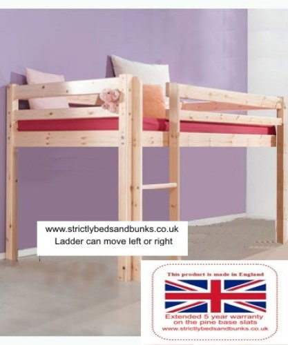 9d9988513a0b Short Cabin Bed 98cm by 175cm Midi-Sleeper Bed with 15cm thick mattress -  Buy Online in Oman. | Kitchen Products in Oman - See Prices, Reviews and  Free ...