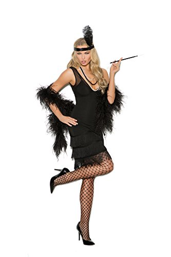 Women's Sexy Fringed Flapper Cosplay Costume