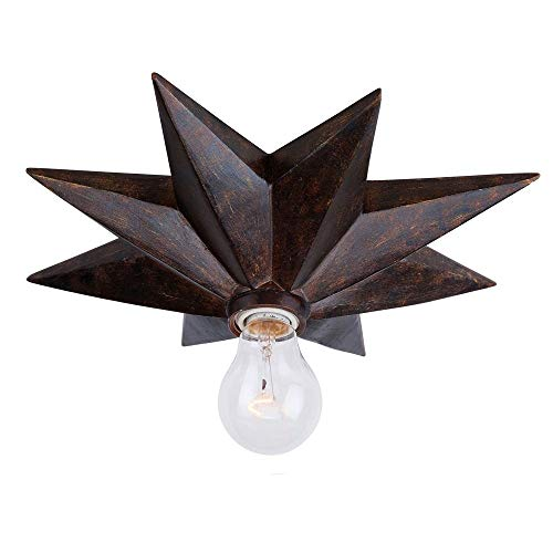 Astro Collection - Crystorama 9230-EB Transitional One Light Ceiling Mounts from Astro collection in Bronze/Darkfinish,