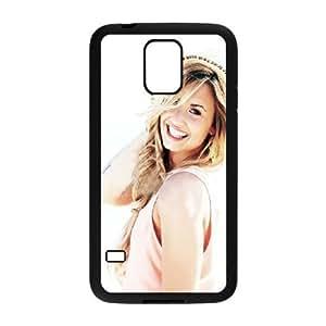 C-EUR Customized Print Demi Lovato Hard Skin Case Compatible For Samsung Galaxy S5 I9600