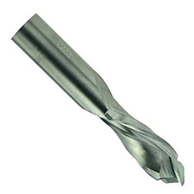 Whiteside Router Bits UD2100 Up/Down Cut Spiral Bit with Solid Carbide Compression and 1/4-Inch Cutting Diameter from Whiteside