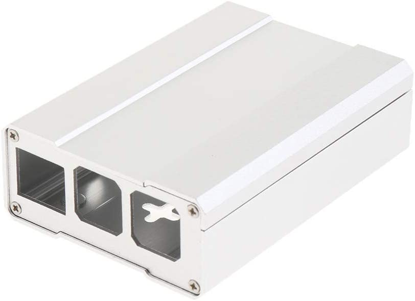 as described B 2 Model B Case Shell Removable Frame Cover for Raspberry Pi 3 Model B Silver