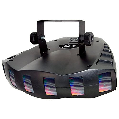 CHAUVET DJ Derby X RGB LED Derby w/Static, Blackout, Strobe Effect Light & Automated/Sound Active Programs